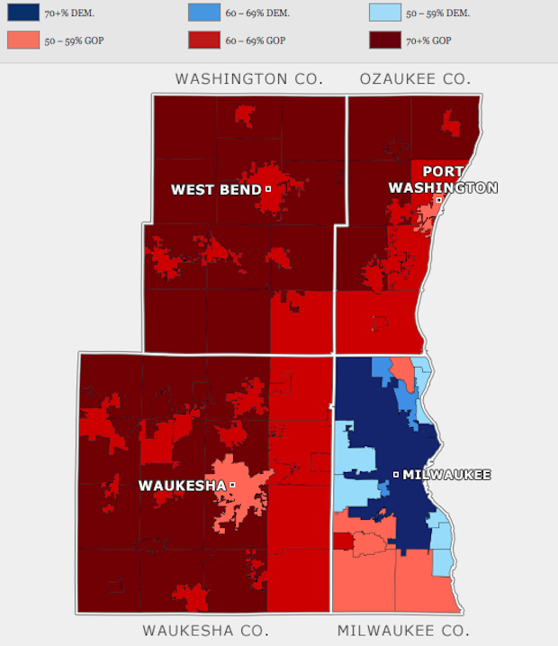 Is Milwaukee The Most Racially And Politically Divided