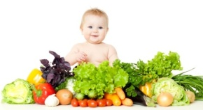 Baby and Veggies
