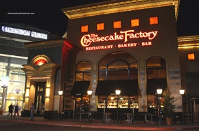 Cheesecake Factory and Cities