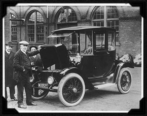 Early 1900s Electric Cars