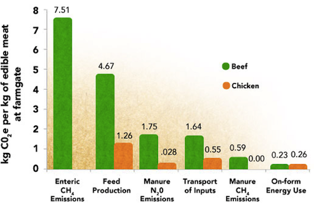 Greenhouse Gases and Food Production