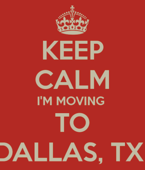 Moving to Dallas