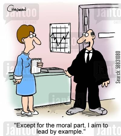 Business corporate ethics corporate morals morals lead by example