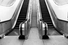 The escalator to success is broken