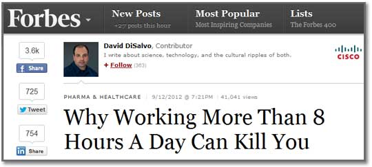 Numbers in Headlines Don't Solve Problems